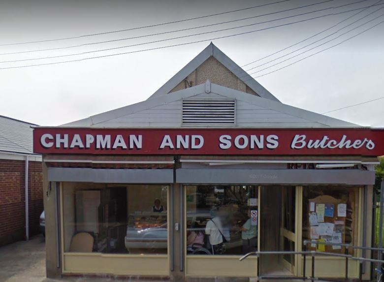 Chapman and Sons Butchers Blackhall Colliery