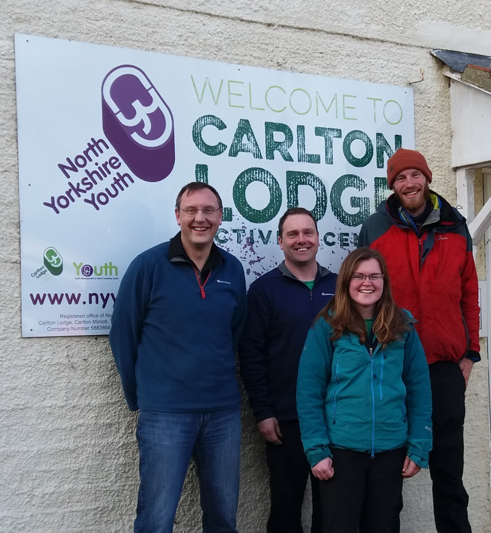 RECRUITING: Volunteer leaders at Carlton Lodge Activity Centre, in Carlton Miniott, Thirsk