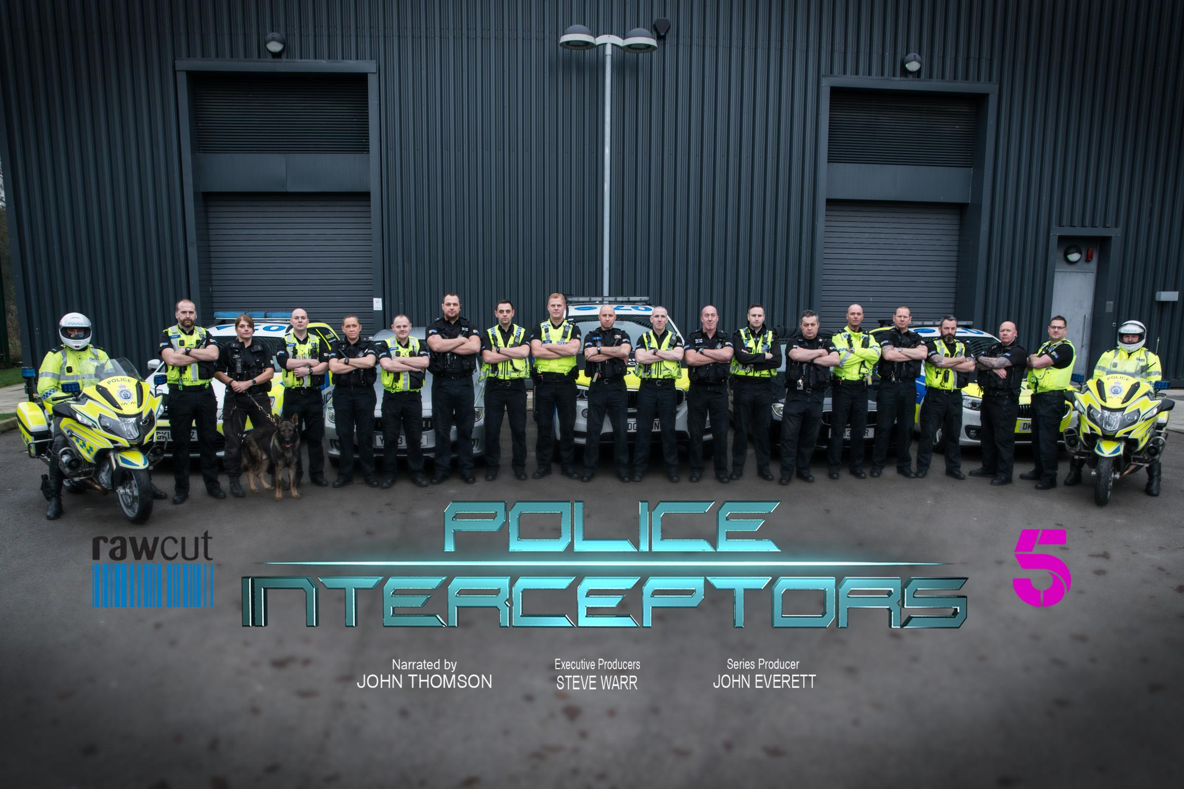 Officers from Durham Police were being shadowed by a camera crew from popular Channel 5 television show, Police Interceptors