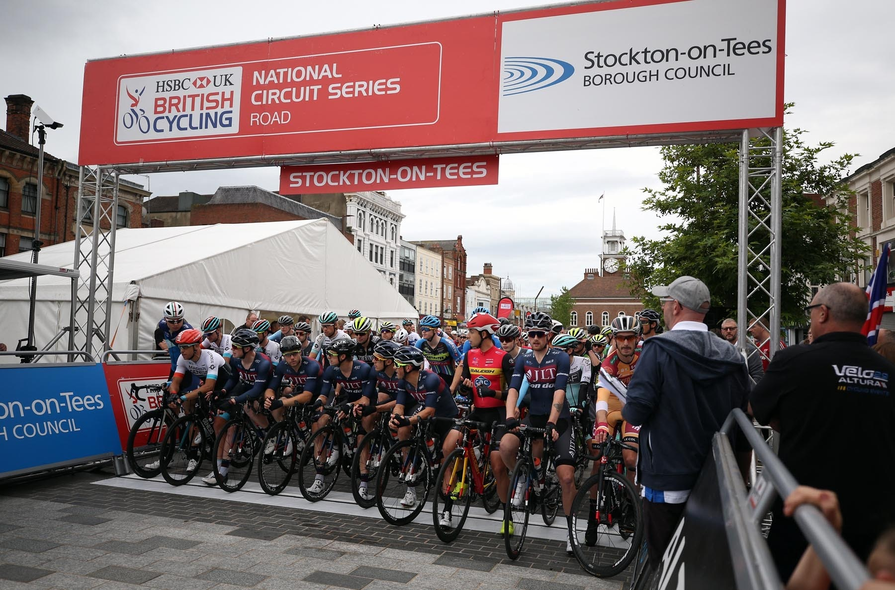 Stockton Cycling Festival. On the first day of the festival an elite race takes place around the town centre. Picture: CHRIS BOOTH.