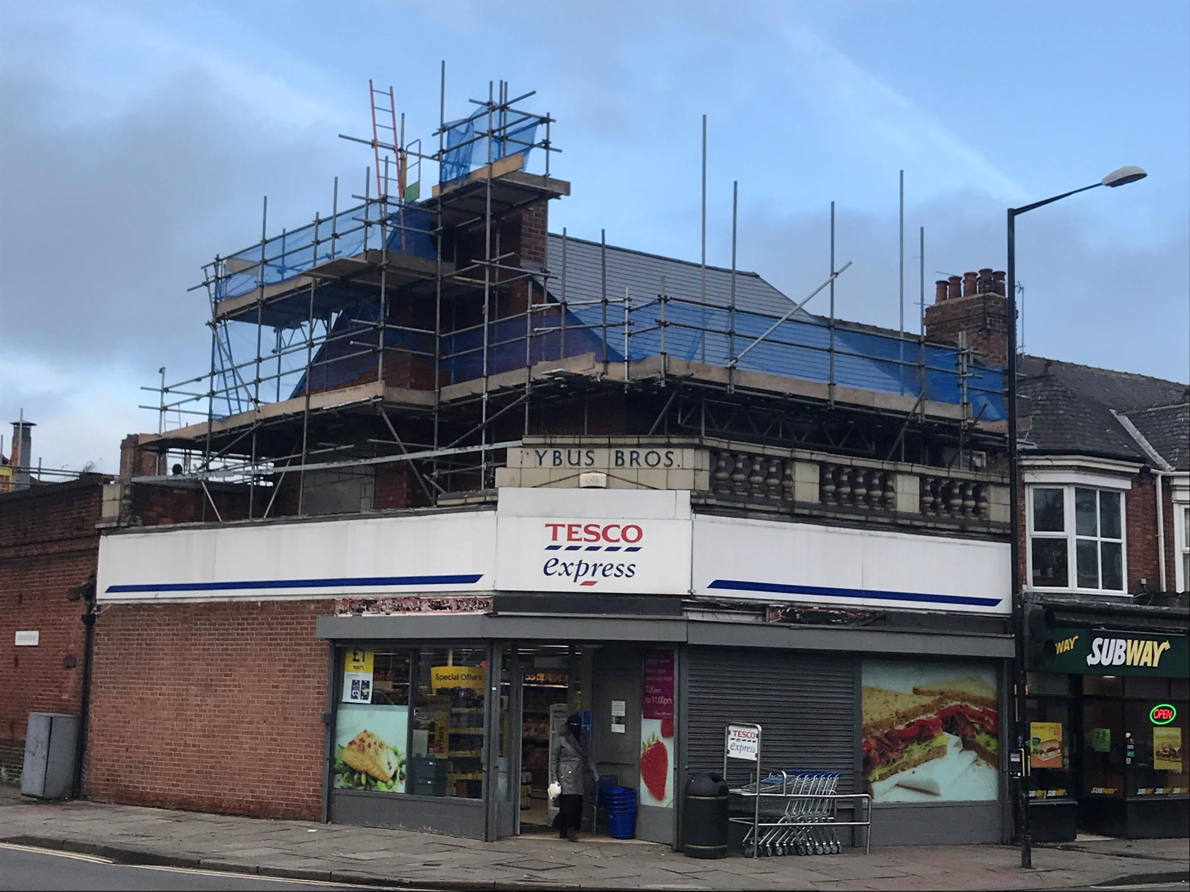 HERITAGE: The Pybus Brothers Building, in a conservation area in Linthorpe, Middlesbrough