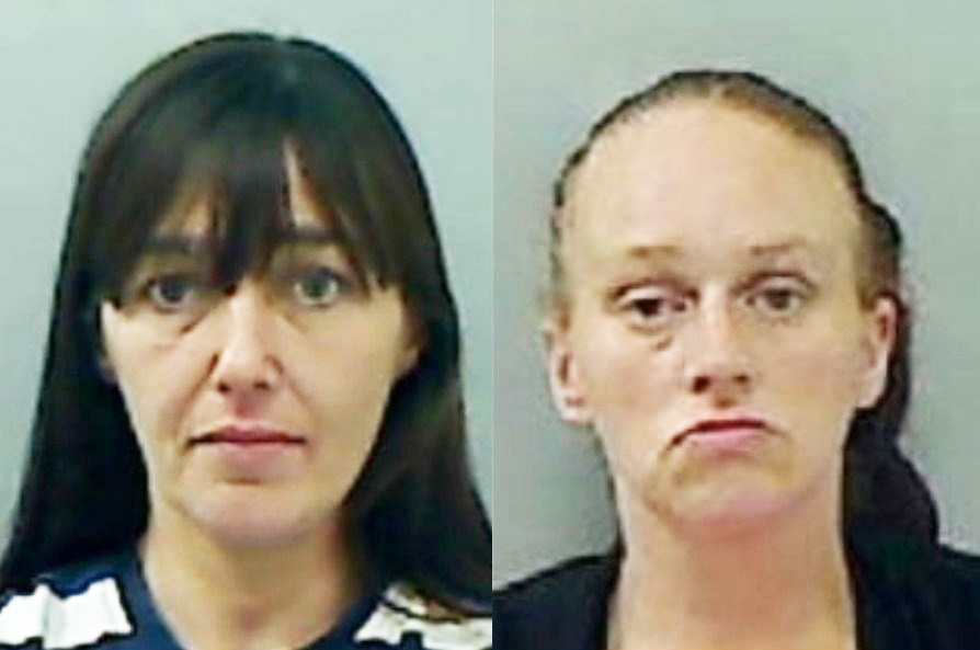 Nine-year sentence for Leslie Anne Ward and Vicky Osborne, given sentence of three years and three months