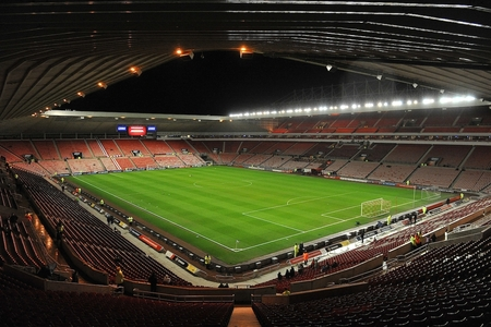 The Stadium of Light, where Newcastle overcame Sunderland's Under-23s and seats were ripped up