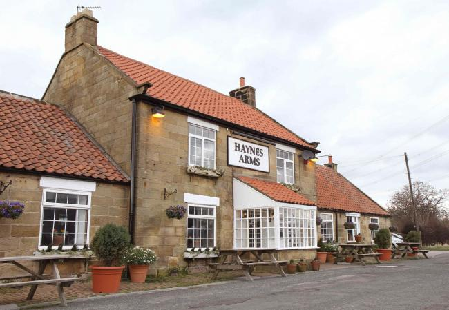 BUYER: The Haynes Arms at Kirby Sigston, near Northallerton