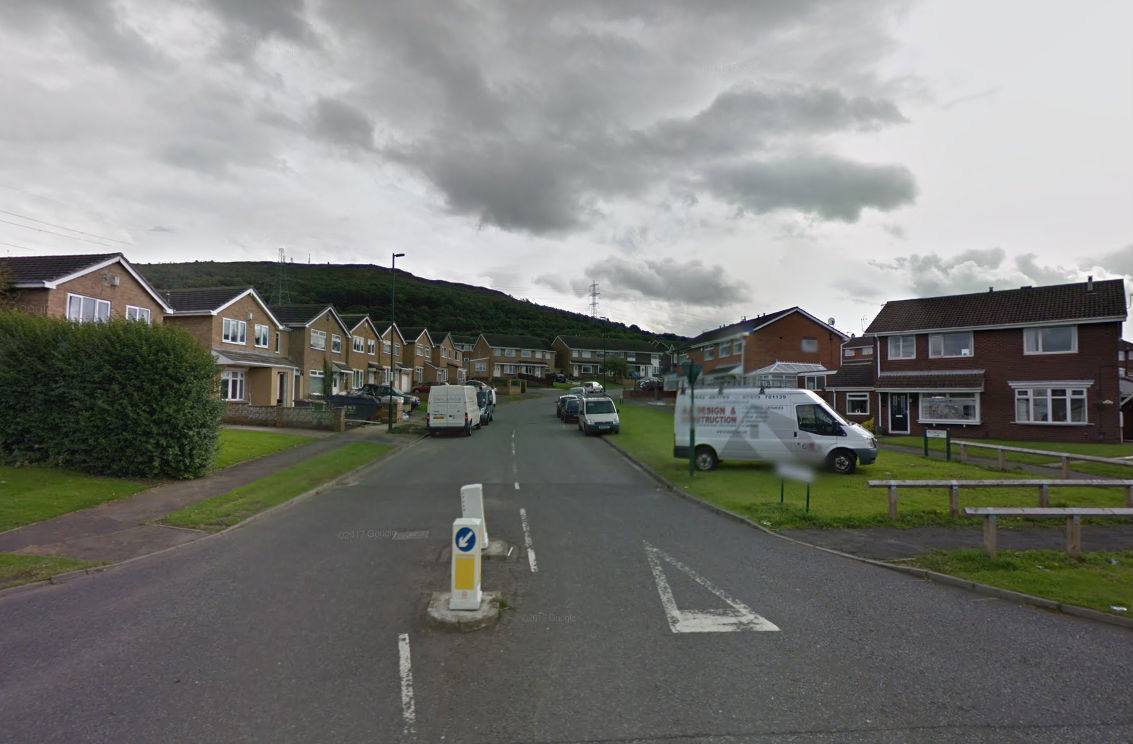 Three people charged in connection with pensioner's death in Meadowgate, Eston. Picture: GOOGLE