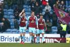 Ashley Barnes, pictured left, got Burnley back on level terms against Everton (Dave Thompson/PA)