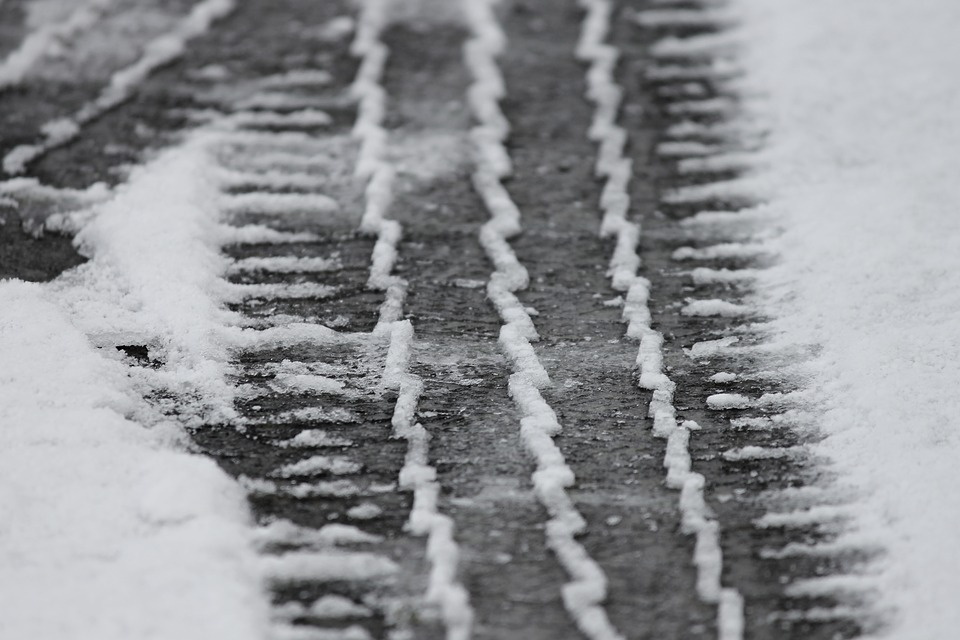 Tracks left in the snow. Picture: PIXABAY