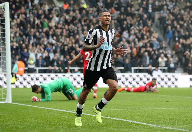 UNDER OFFER: Newcastle want to re-sign Kenedy, with the winger having impressed in a loan spell on Tyneside last season