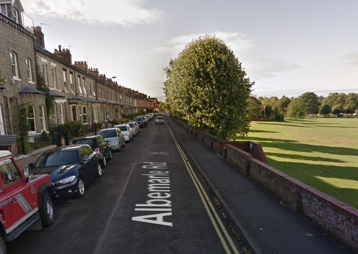 COLLISION: Albemarle Road in York. Picture: Google.