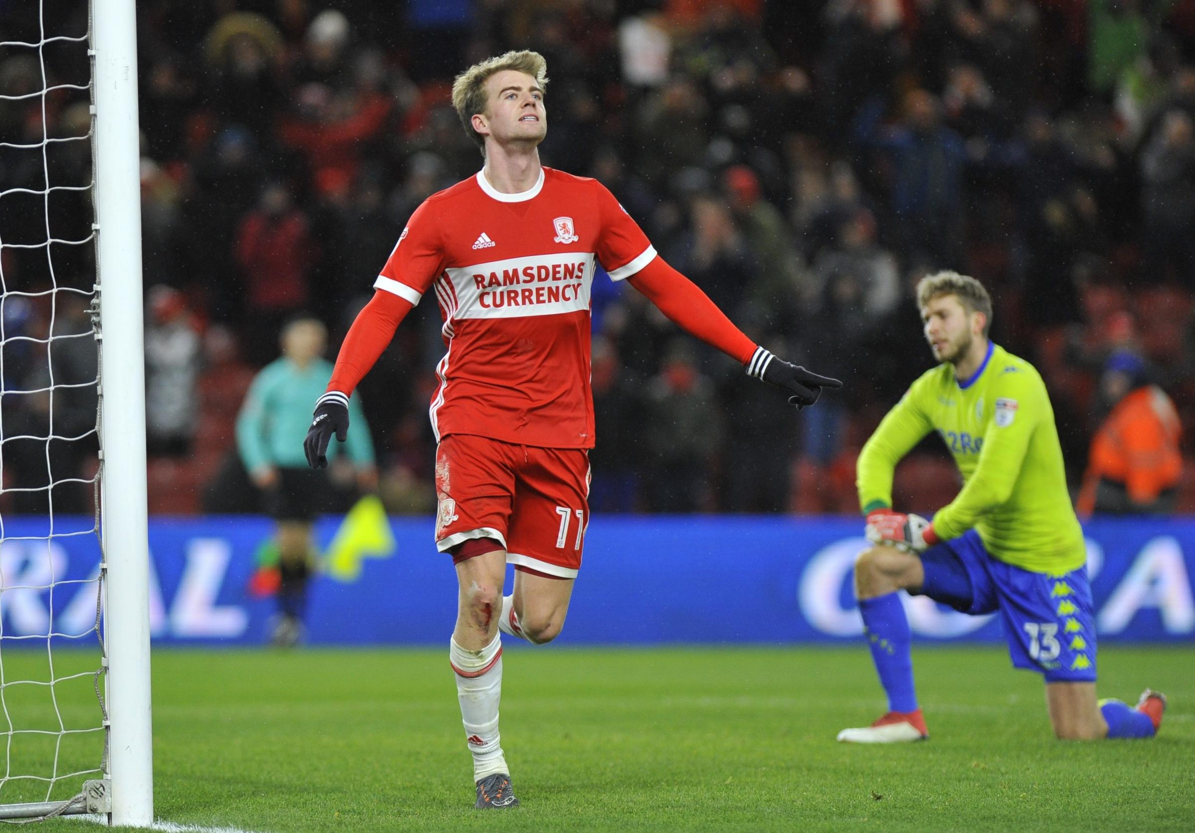 NOT FOR SALE: Middlesbrough do not want to lose striker Patrick Bamford this summer