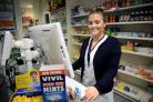 PROMOTE: M&M Pharmacies customer services apprentice Stephanie Burrows Picture: BARRY PELLS