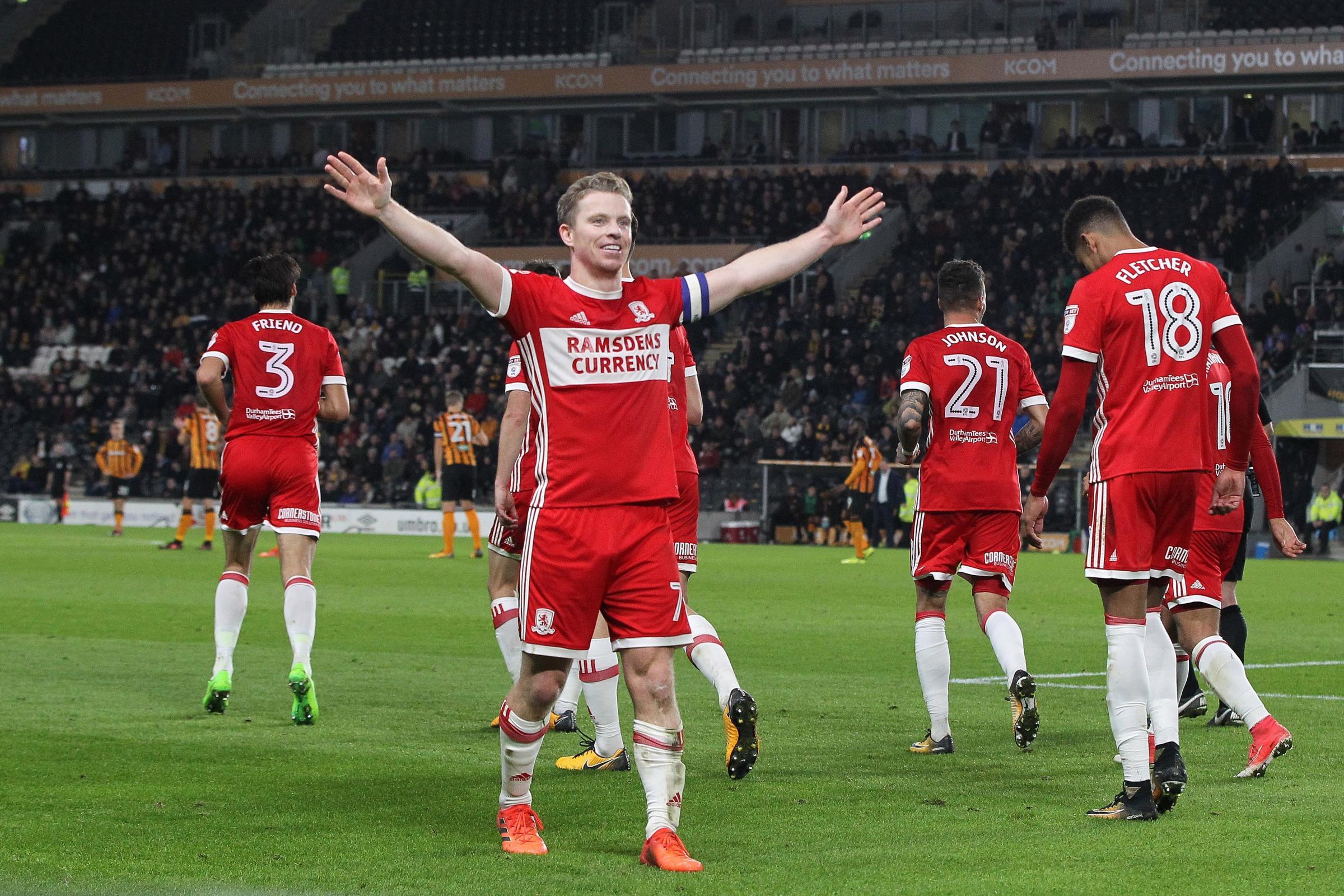 Boro midfielder Grant Leadbitter back in Sunderland's sights