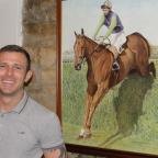 The Northern Echo: IN CHARGE: Andy Appleby in front of a painting of Red Alligator. Picture Peter Barron