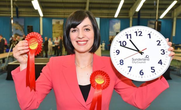 The Northern Echo: Labour's Bridget Phillipson of Houghton and Sunderlnd South. Picture: North News & Pictures
