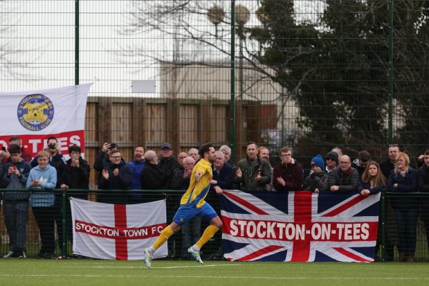 The Northern Echo: Stockton vs Marske, FA Vase semi-final second leg. 24/03/18
