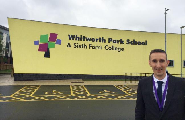 HEAD: David Stone, interim headteacher at Whitworth Park School in Spennymoor, where teachers have voted to strike
