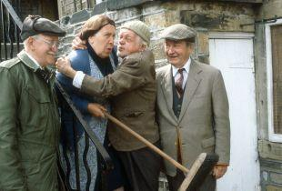 The Northern Echo: Norah Batty (Kathy Staff) with the Last of the Summer Wine crew