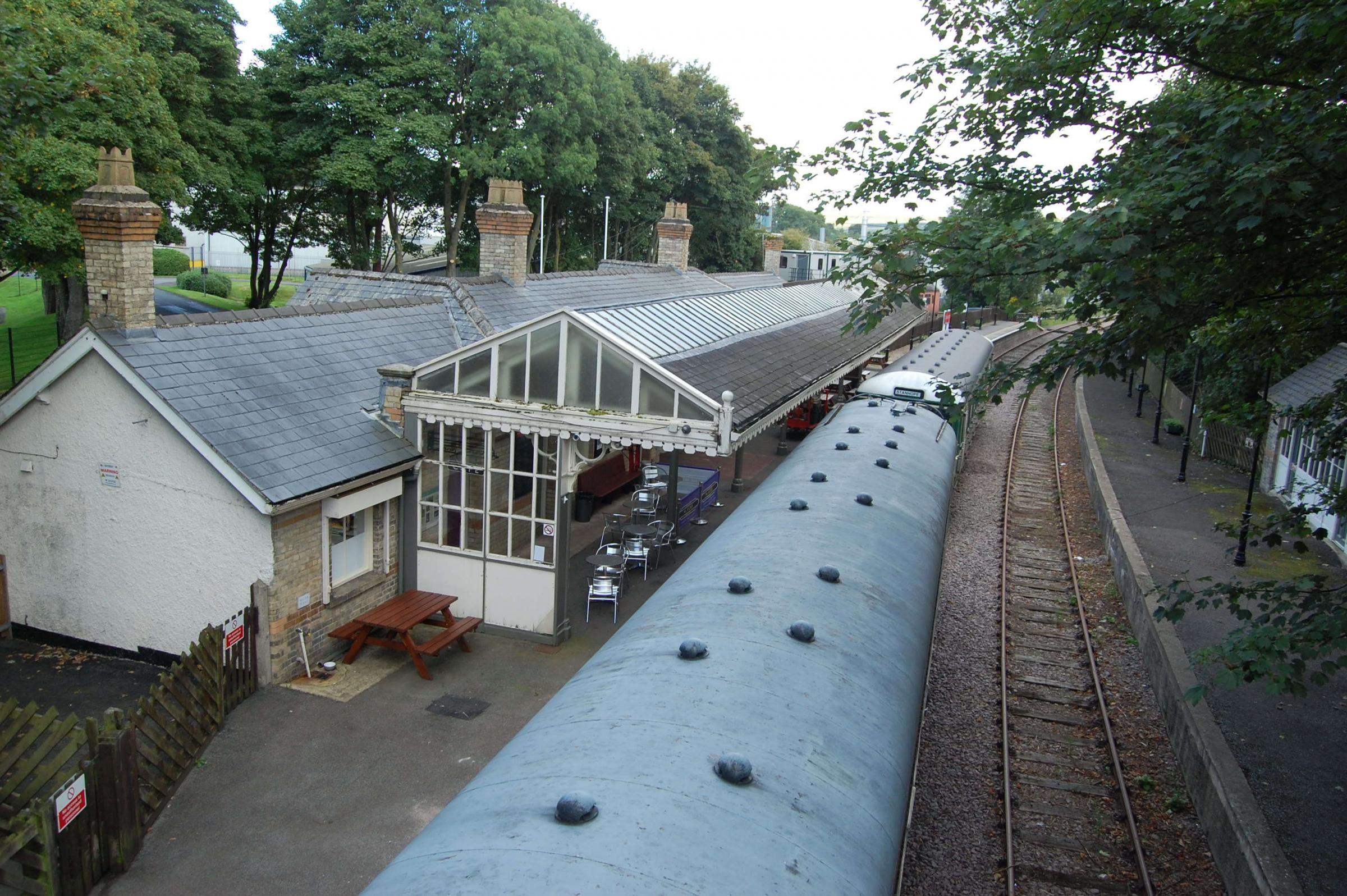 Trains will be going from Stanhope Station (pictured) to Bishop Auckland for the first time since 2012
