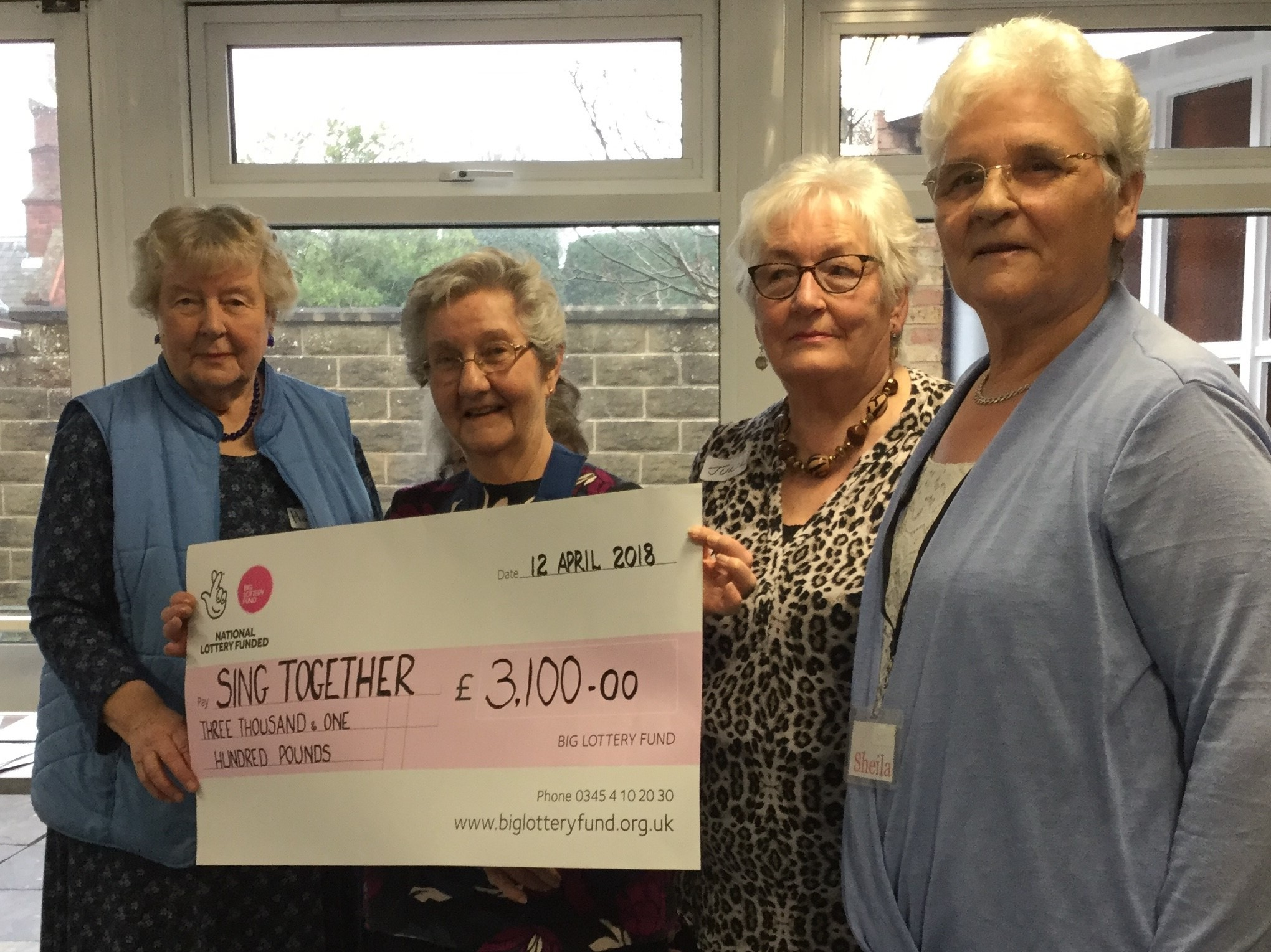 LOTTERY: Members of Sing Together in Northallerton