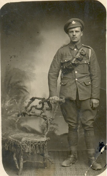 HONOUR: George Roper, of Sedgefield, was serving in the 19th Battalion when he was killed at the age of 23 on St George's Day in 1918