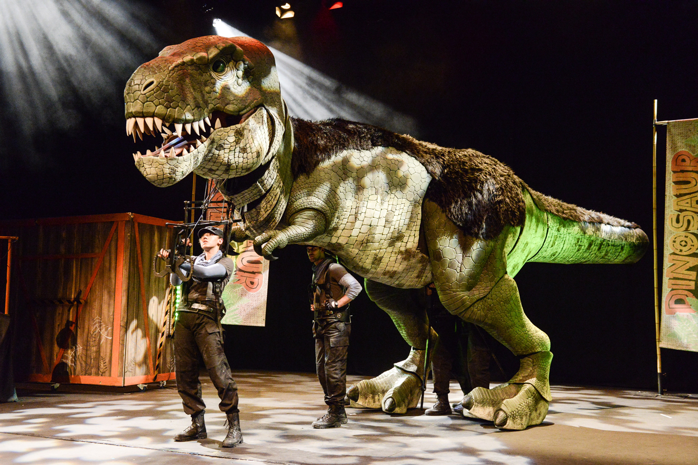 Dinosaur World Live. Picture: Robert Day