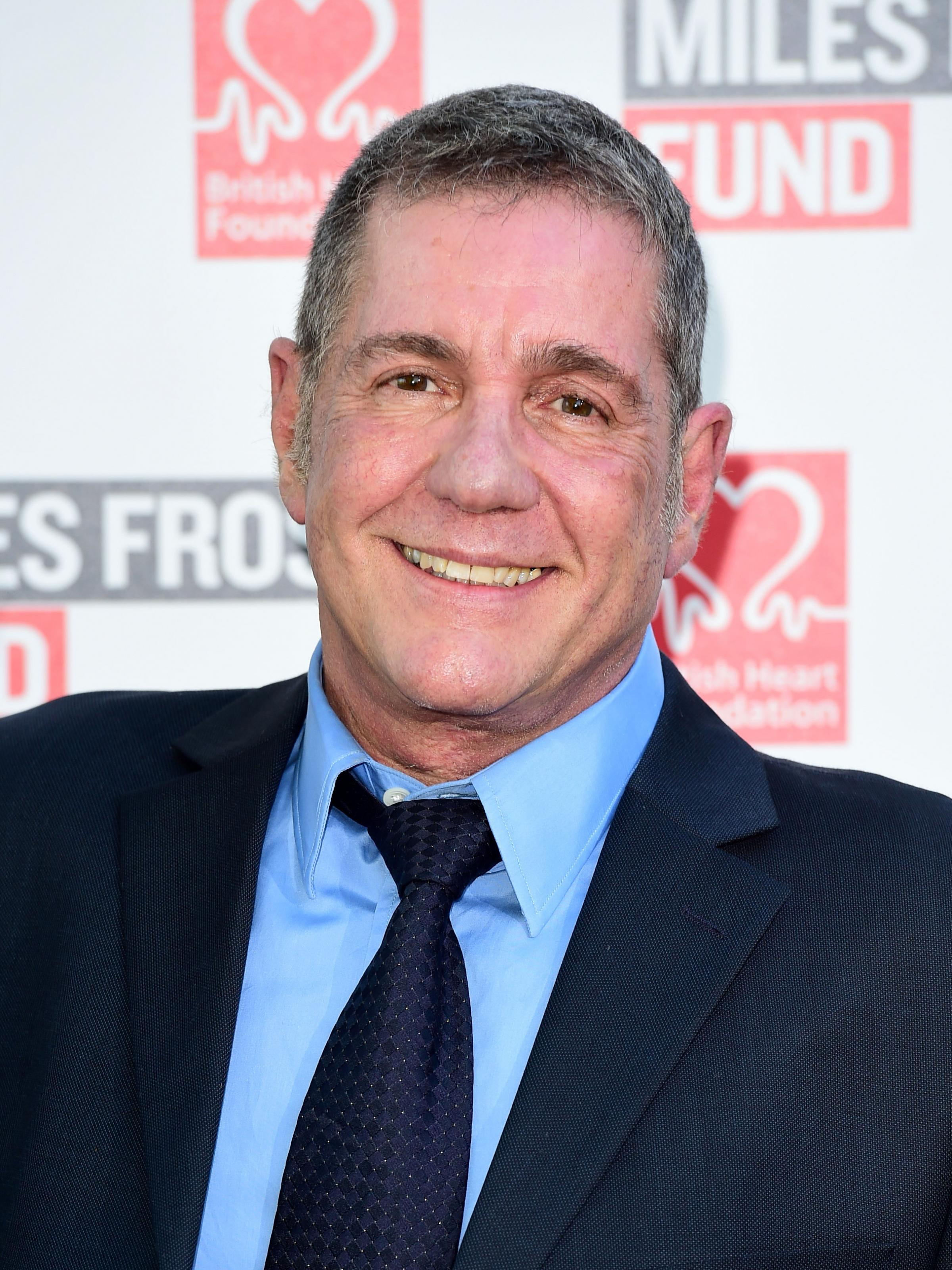 Dale Winton attending the Frost Summer Party Fundraiser in London. The presenter has died at the age of 62. Picture: PA