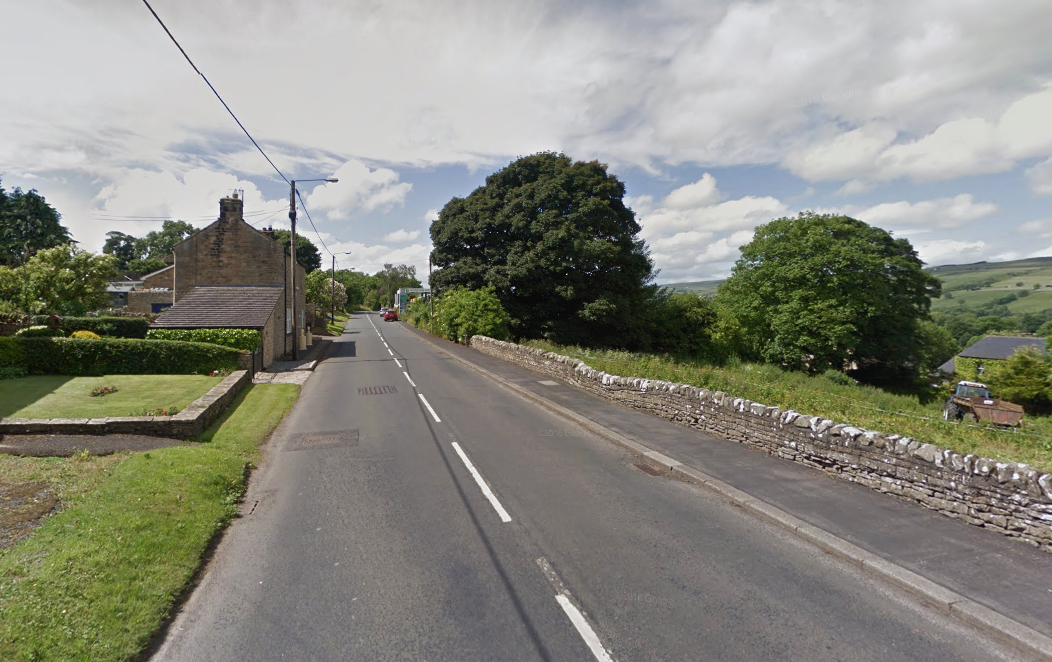 ARREST: A man has been arrested on suspicion of threats to kill, attempted arson and breaching a restraining order in Mickleton, Barnard Castle. Picture: GOOGLE