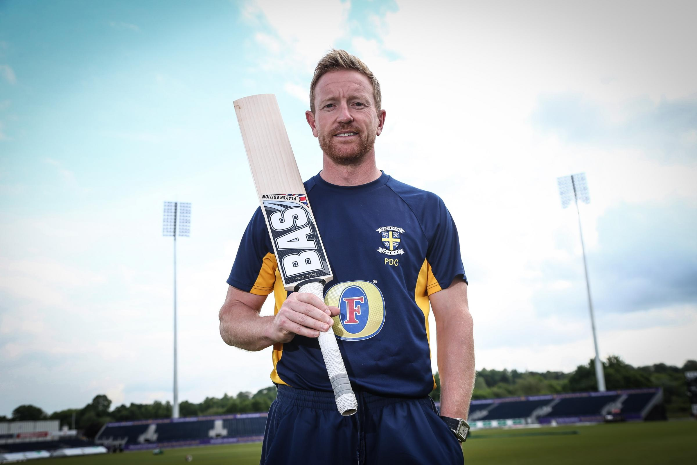 Durham CCC cricketer Paul Collingwood. Picture: TOM BANKS.