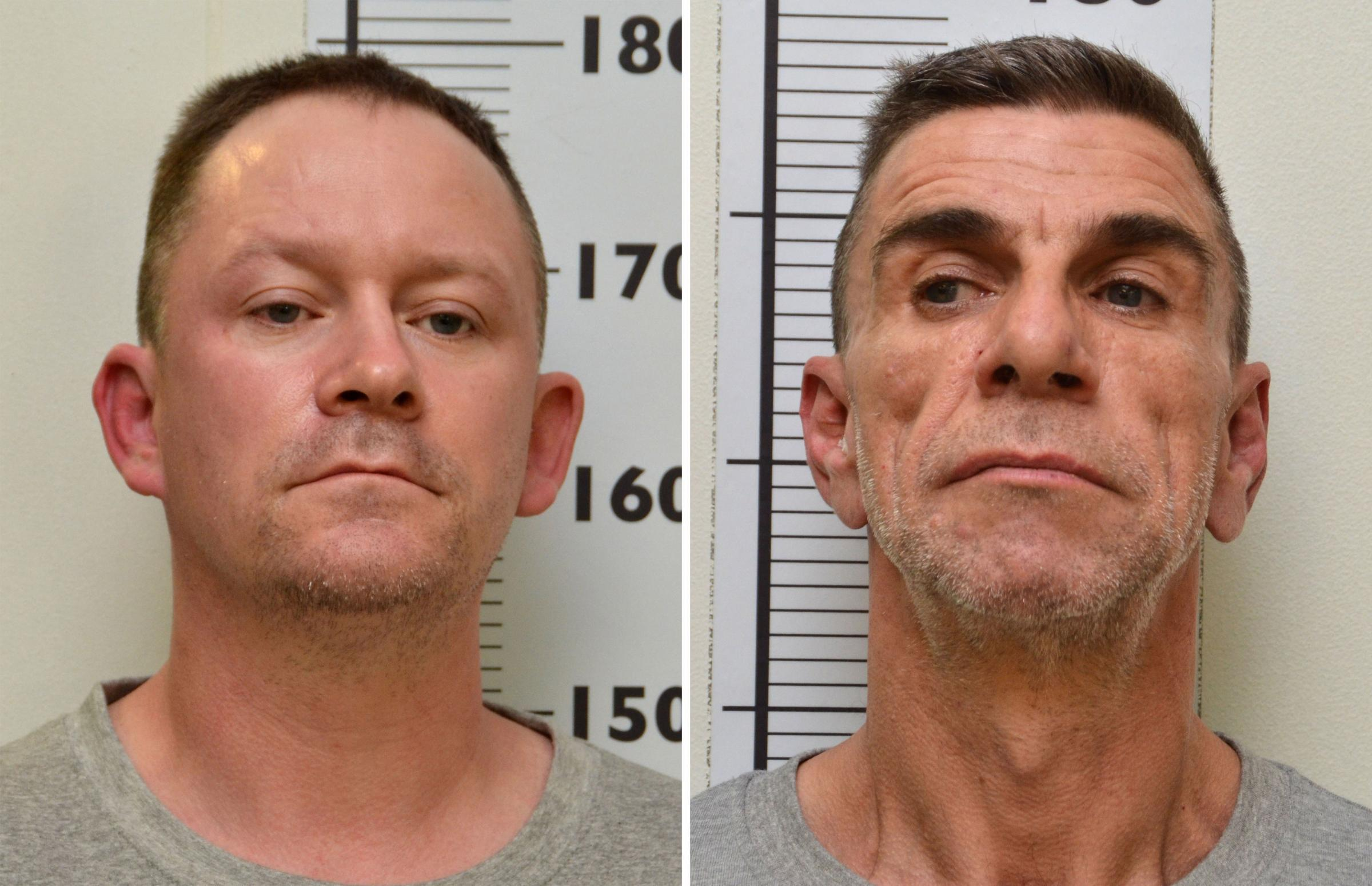 KILLERS: Stephen Unwin (left) and William McFall
