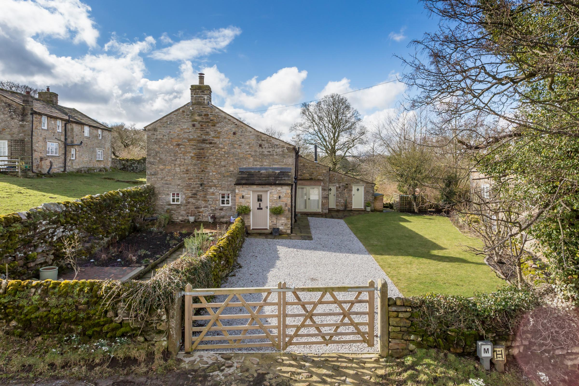 Brook Cottage is on the market at offers in excess of £475,000