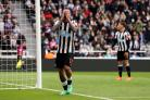 FRUSTRATION: Newcastle United's Kenedy sums up the Magpies' day by reacting to a missed chance during the Premier League defeat to West Brom at St James' Park. Picture: Owen Humphreys/PA Wire