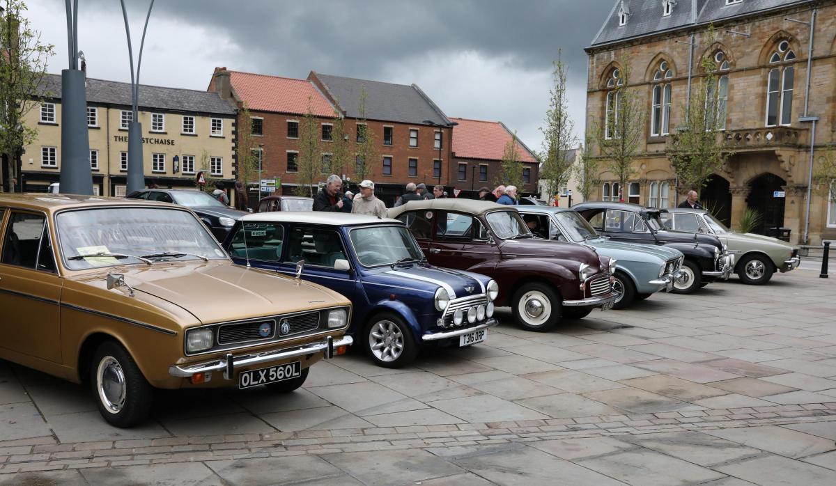Vintage Car Showcase Raise Cash For Bishop Auckland Mayors Fund - Classic car showcase