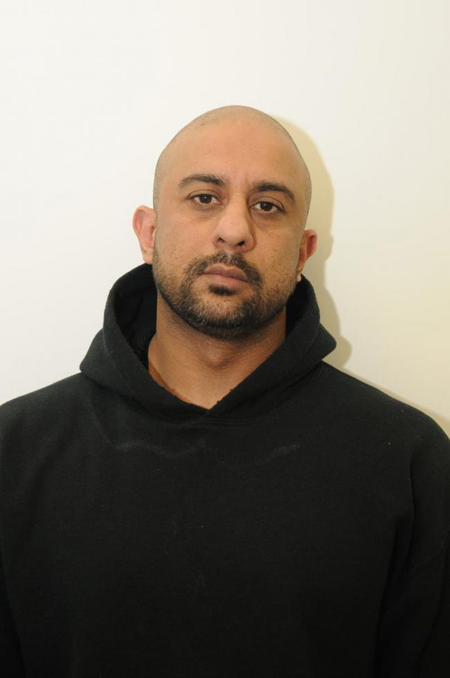 Mohammed Zahir Khan, 40, of Salisbury Street, Sunderland, who has been jailed for four-and-a-half years. Picture: North East CTU