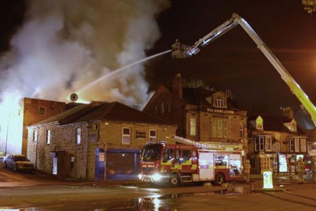 Fire-hit social club site to be turned into flats | The