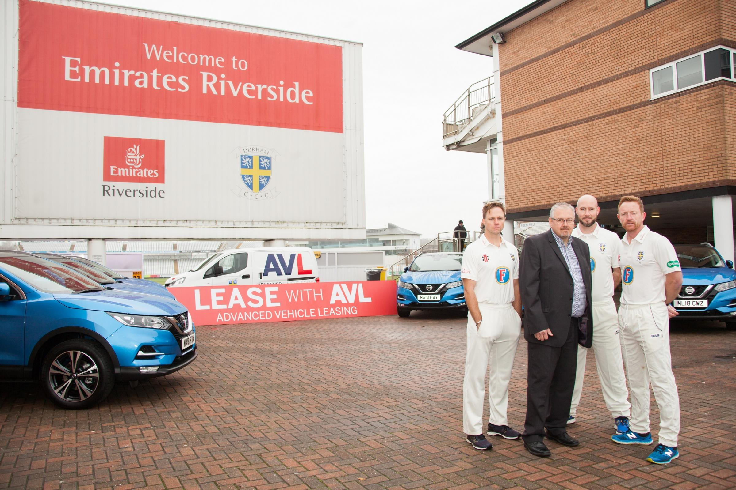 AVL will be Durham County Cricket Club's new partner