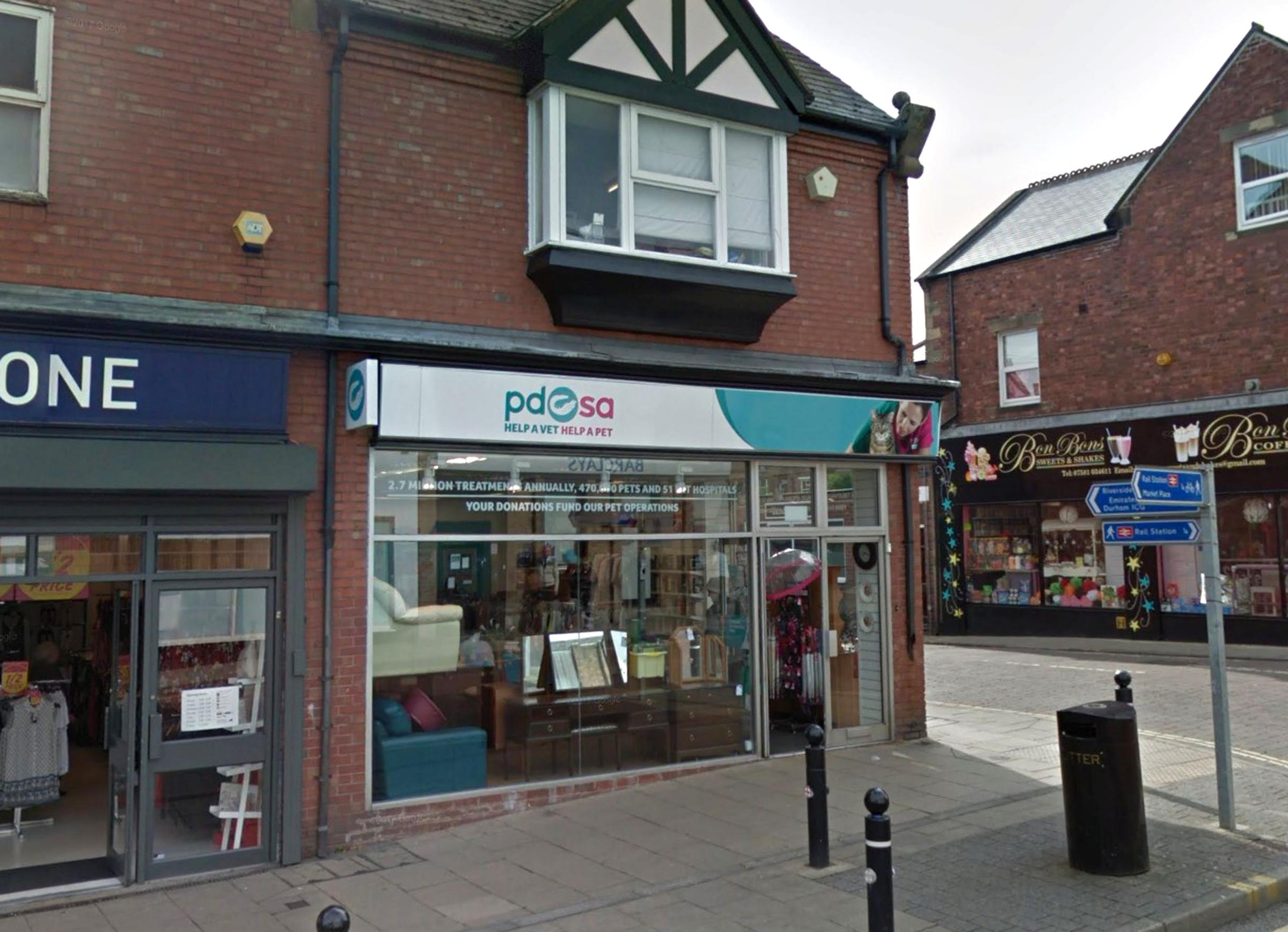 DONATIONS: Chester-le-Street PDSA shop appeals for unwanted clothes to be help treat pets in the area Picture: GOOGLE