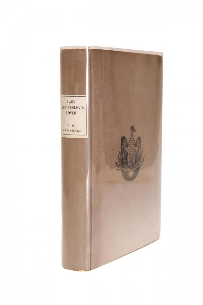 A signed first edition of one of the most controversial books of the 20th century - Lady Chatterley's Lover