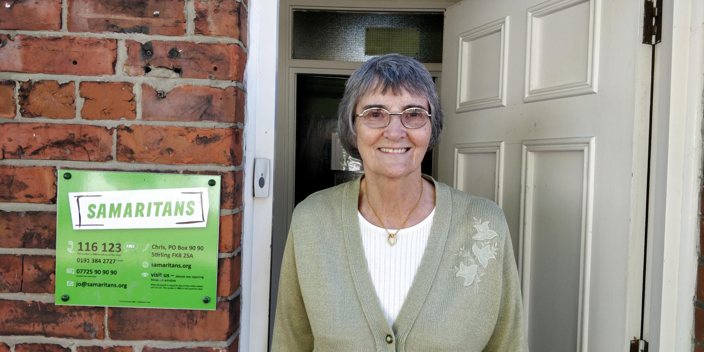 PARTY: Samaritans volunteer Margaret Fox-Baldwin is going to Prince Charles' 70th birthday party