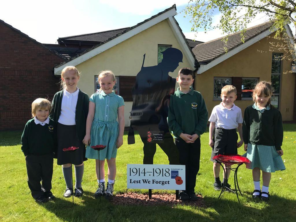 School's silent solider tribute to mark WWI centenary