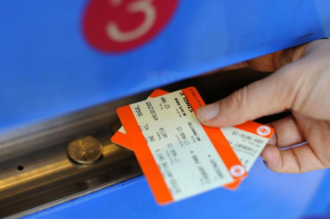 "A person buys a train ticket as an annual rise in rail fares in 2017 is described by public transport campaigners as ""another kick in the teeth"" for passengers. Picture: Lauren Hurley/PA Wire"