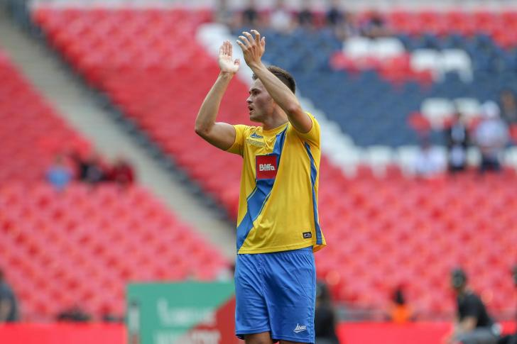 Fa Vase Final Stockton Town V Thatcham Town May 20 2018 The