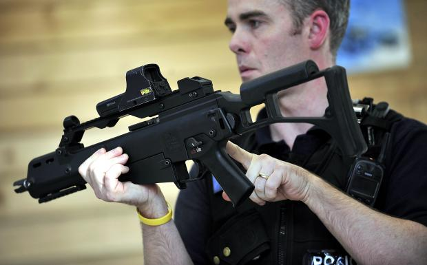 VOLUNTARY TEAM: Helping with firearms officers training is among the roles North Yorkshire Police volunteers can perform.