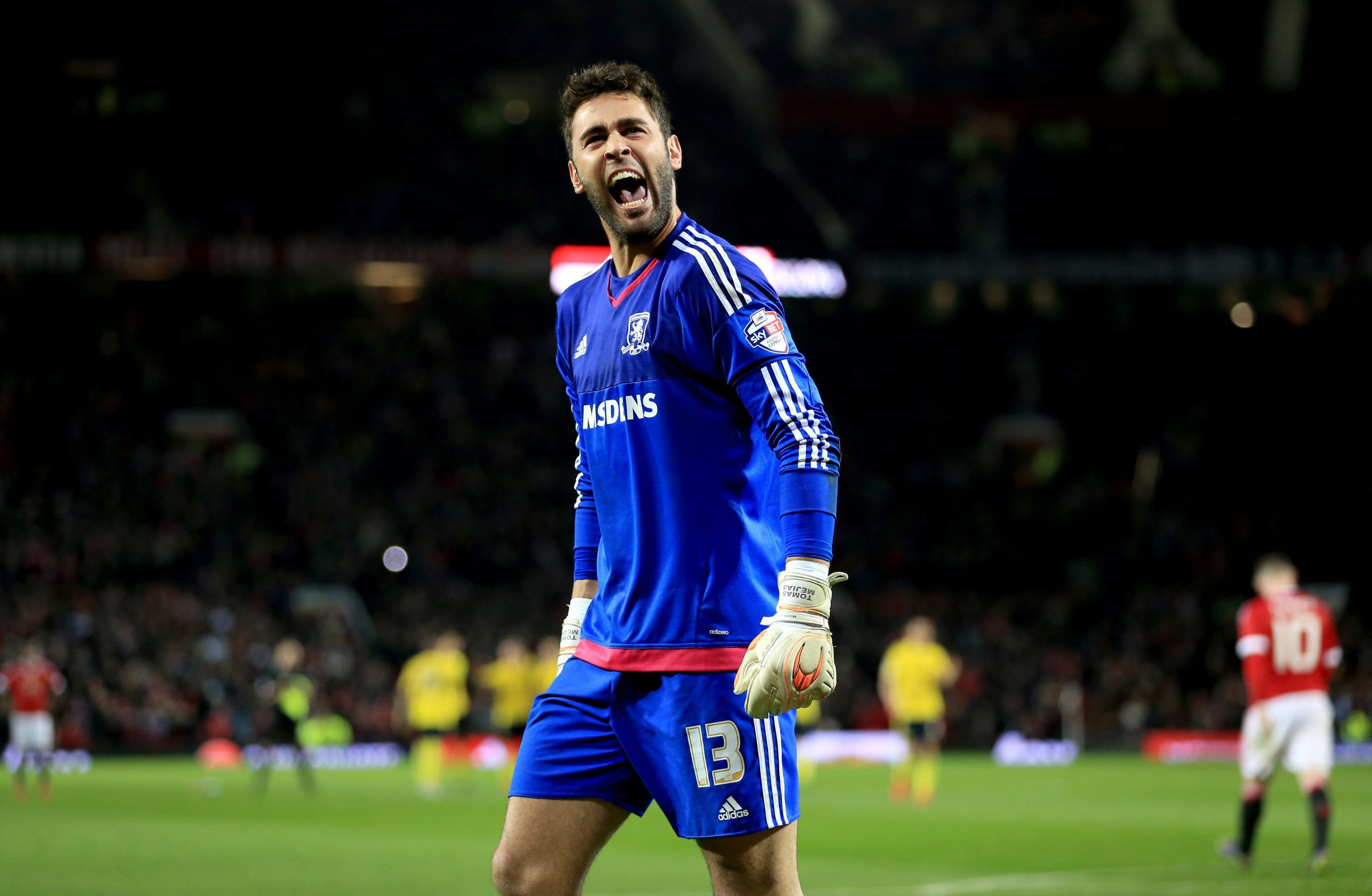 ON HIS WAY OUT: Tomas Mejias is leaving Middlesbrough after four-and-a-half years with the club