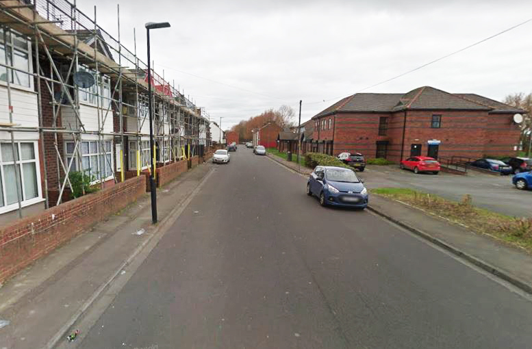 The assault happened on Kendal Road in Hartlepool Picture: Google