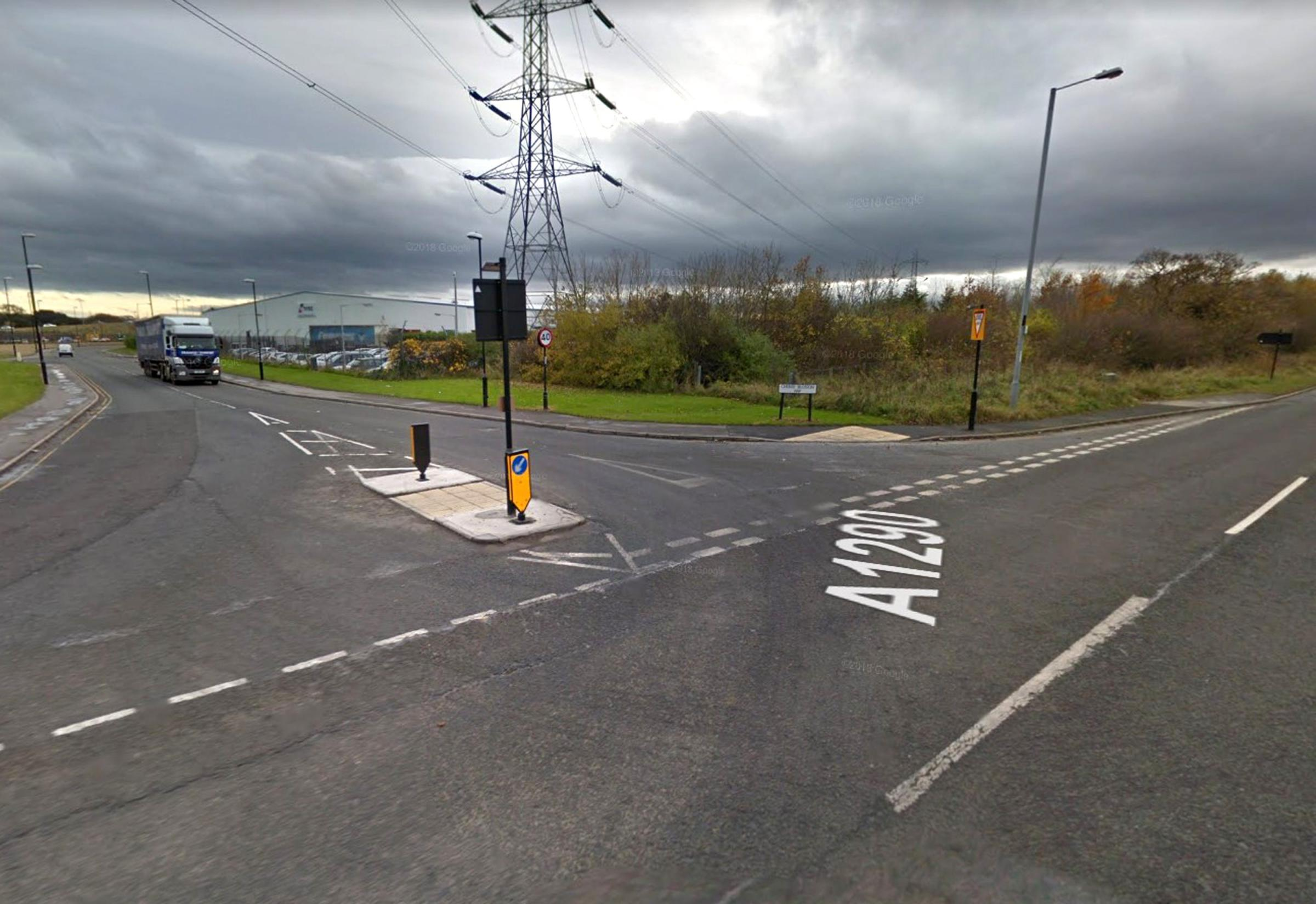 CRASH: A 26-year-old man has died following a four-vehicle crash in Washington Picture: Google