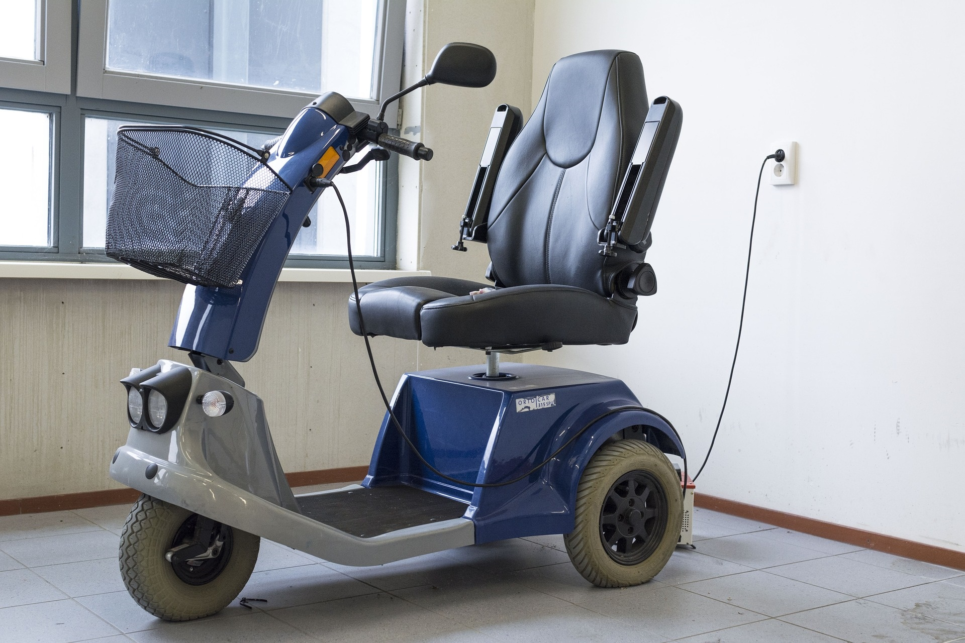 A file picture of a mobility scooter