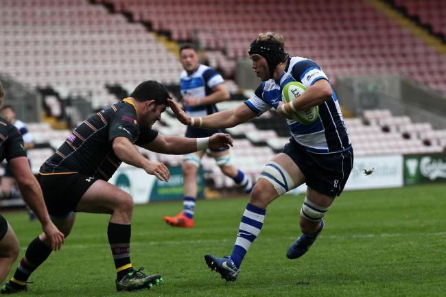 Ollie Hodgson scored Darlington Mowden Park's first try in their win over Canterbury