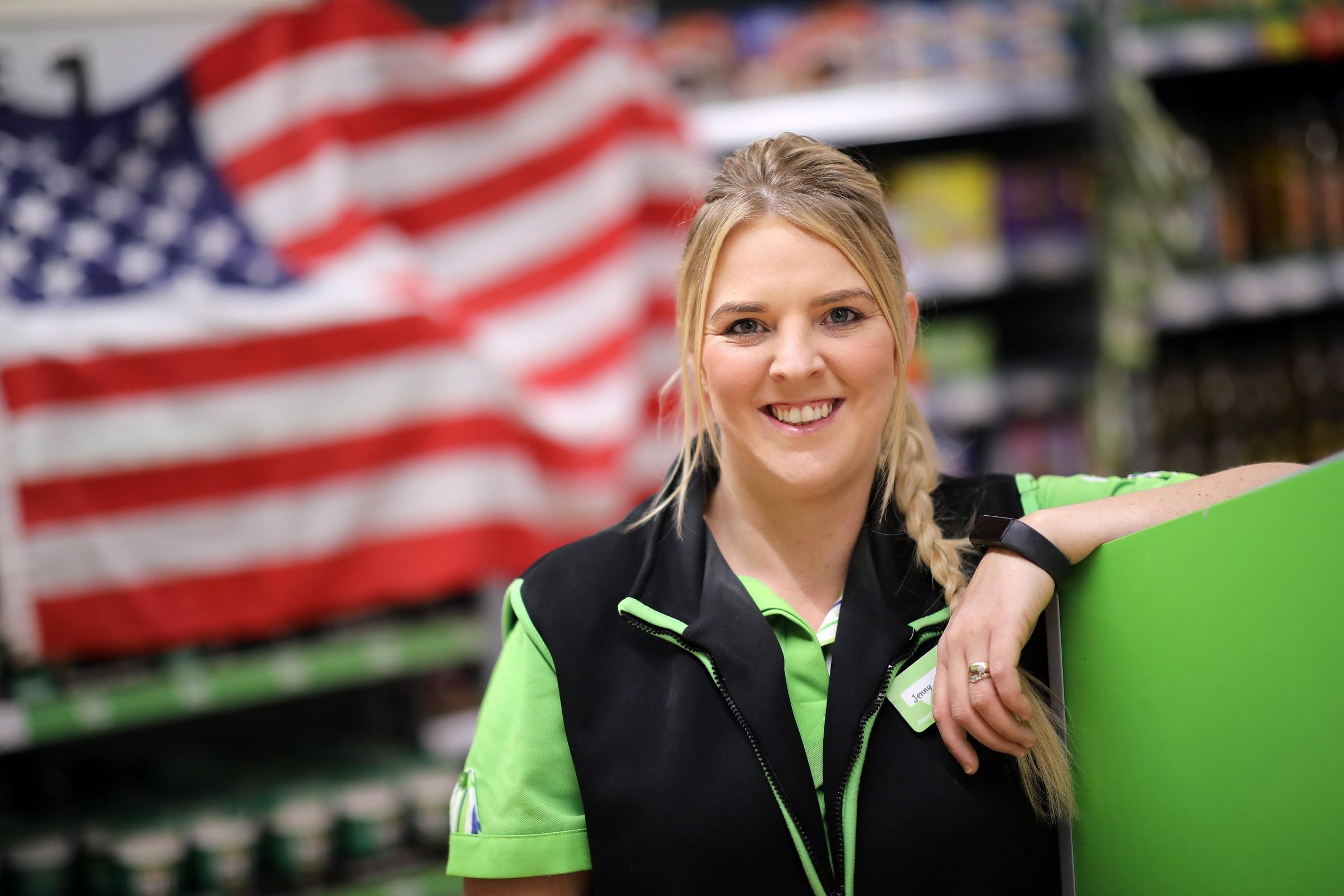 Jenny Barnett, community champion at Asda Middlesbrough, will fly to the USA in celebration of her work to help children with autism