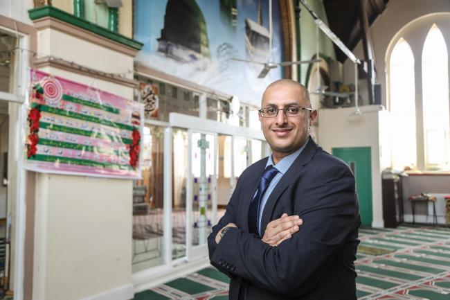 FESTIVE MESSAGE: Ifty Rafiq, founder of The Harmony Initiative