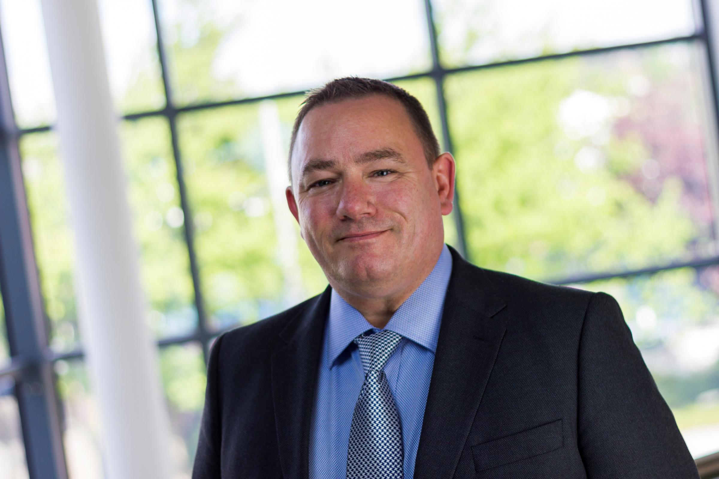 Paul Dodsworth, business unit director for Wates Construction North East and Yorkshire